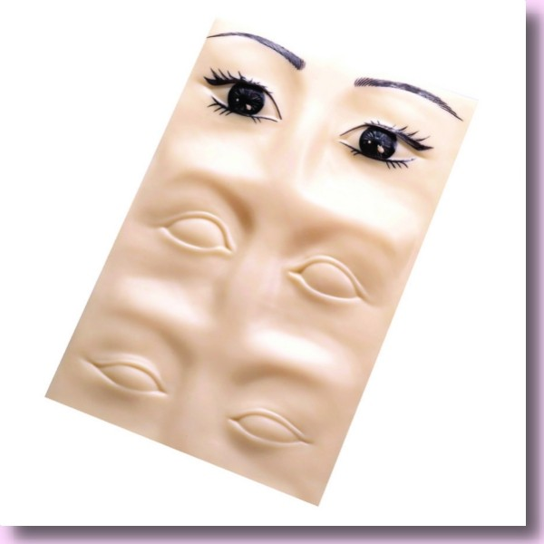 3 D Übungsmaske für Lidstriche & Augenbrauen