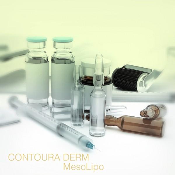 Premium Contoura Derm MesoLipo - Fettreduktion Suspension, 5ml