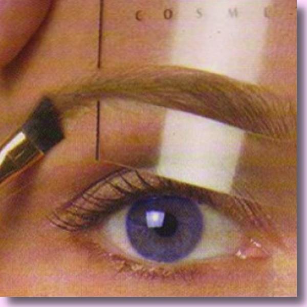 Augenbrauen Schablonen, 1 Set