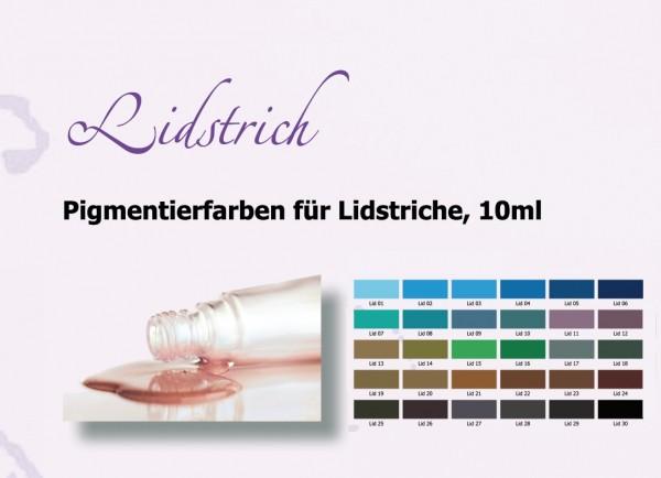 Pigmentierfarben Lidstriche Premium True Color