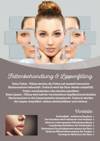 Werbeposter für HyaluronPen MED Falten - u. Lippenbehandlungen, 2 Stck.